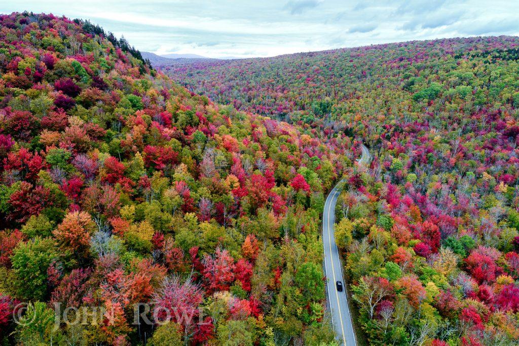 fall foliage groton state park vermont